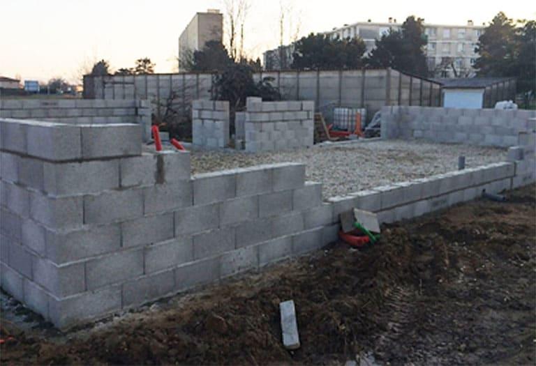 Construction Lyon - Corbas
